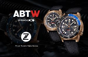 Zelos Mako Bronze 500m Dive Watch