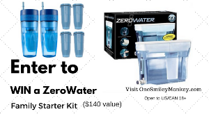 ZeroWater Family Starter Kit Giveaway