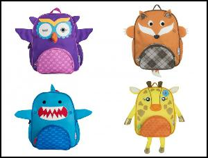 Zoocchini toddler size animal backpack""