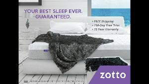 Zotto Memory Foam Mattress ($875)